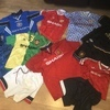 Man Utd vintage 90s football shirts