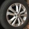 Nissan XTrail 17 alloy wheels+tyres