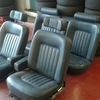 Rolls Royce 1980 leather seats trim