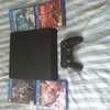 PS4 Slim 500gb w/ 4 games