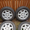 "Genuine mercedes 15"" alloy wheels"