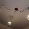 Multiple hanging pendant lights