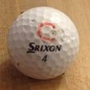 Srixon 4 golf ball