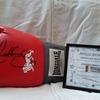 Antony Joshua signed glove