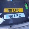 Number plate N8 LFC