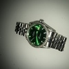 Vintage green face Rolex date just
