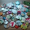 Bag of pin badges will post
