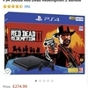 PS4 WITH RED DEAD 2 LIKE NEW