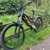 Kona stinky 26 downhill bike