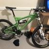 Santa Cruz downhill mountain bike
