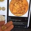 Half soveriegn coin