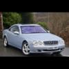 2002 Mercedes cl 500 5 ltr v8