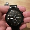 Mens rotary / fossil watch