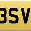 Number plate Y3 SVR