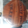 Tom finney  pne autograph football