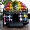 Commercial bouncy castle disco dome