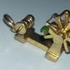 5x 8ct vintage gold charms (1x22ct)