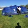 Berghaus 8 man air tent full