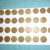 BRASS 3 P SET 1937 TO 1967