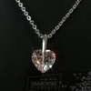 Real Swarovski Elements Heart Set