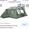 Outwell 6 Montana 6 men tent