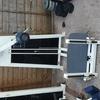 Gym leg hip machine
