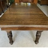J Riley pool dining table