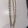rare shaped gold chain