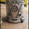 VW metal art fire pit burner bbq