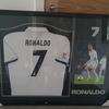 Signed Cristiano Ronaldo shirt