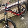 On one 456 full carbon hardtail