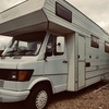 Mercedes 6 birth camper van