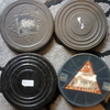 4 FULL, 8MM FILM REELS & TINS.