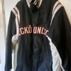 ECKO, STITCHED BASEBALL JACKET.