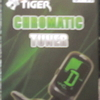 TIGER CHROM. TUNER FOR GUITAR, NEW.