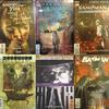 5 VINTAGE SANDMAN COMICS (+BATMAN).