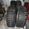 Off road tyres and wheels