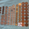 102 OLD BRITISH COINS