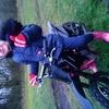 My little girls mini moto