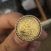 Half Soverighn ring  (unisex)