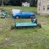 Atv150 tow along flail mower