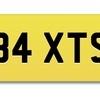 B4 XTS Cherished reg, BAXTER/BAXTS