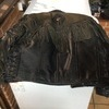 JTS Fringe leather