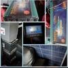 Solar power setup