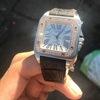 Cartier Santos 100 diamond *rare*