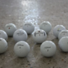 Many Golf Balls, Grade A, B and C