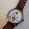 Unique tourbillion style watch