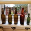 antique beer bottles