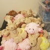 25 soft toys all new with tags