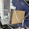 Gas and electric fridge+freezer box